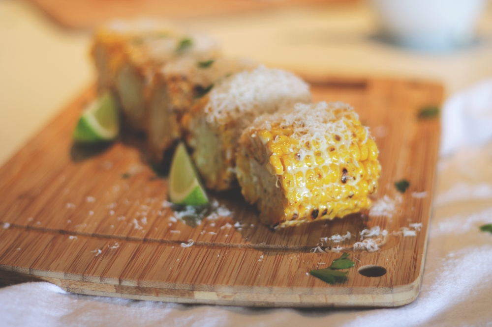 corn parmesan lime