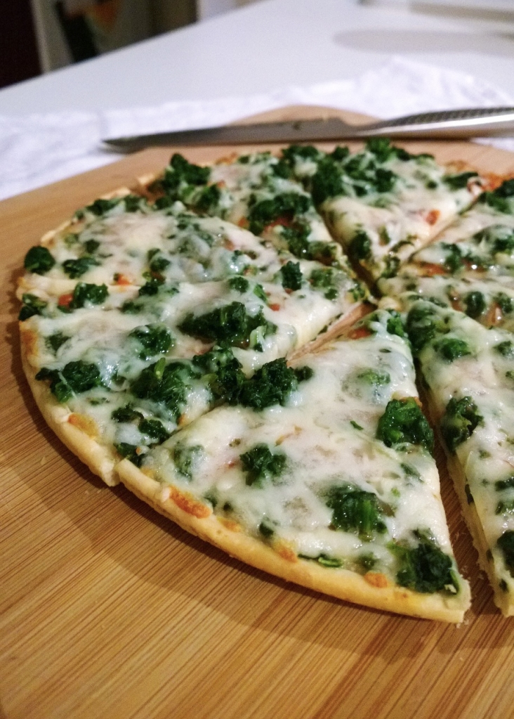Dr Oetker spinach pizza