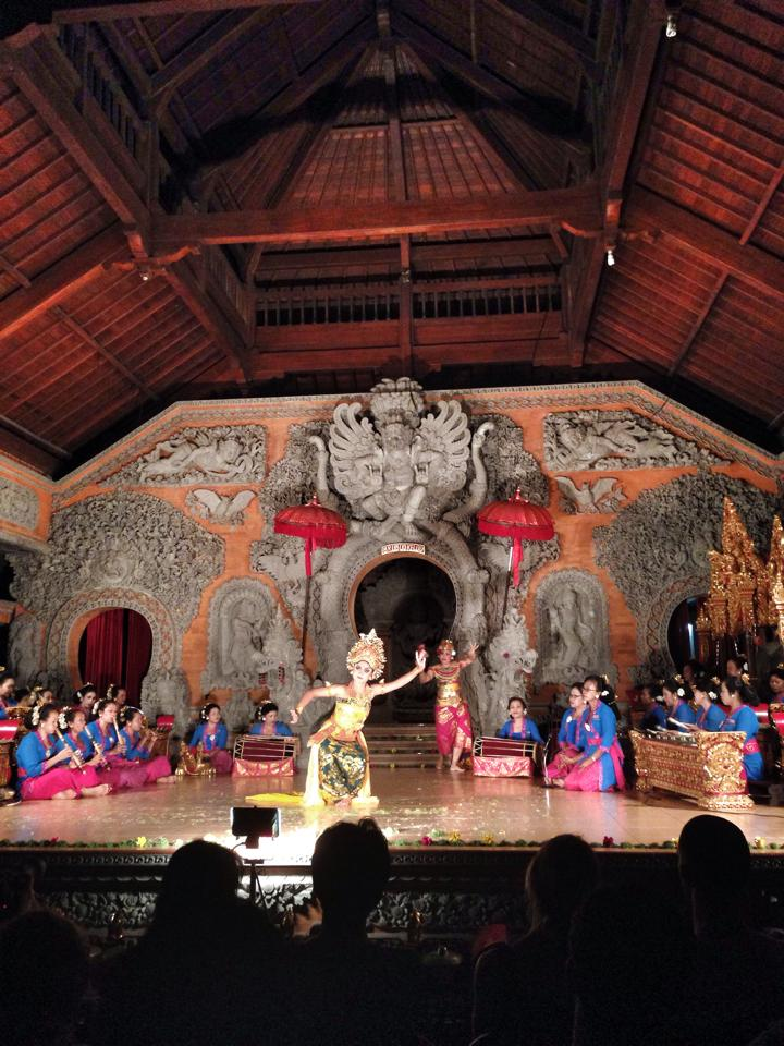 Balinese dance in Ubud