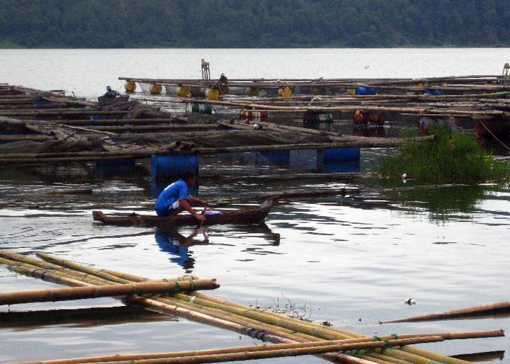 A lake near Batur