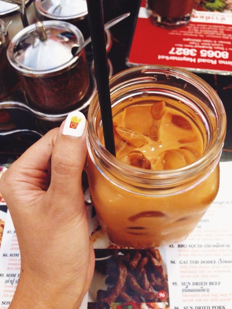 Ice Thai milk tea