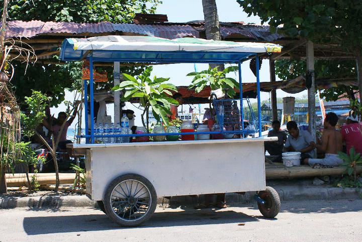Street food, Padang Bai
