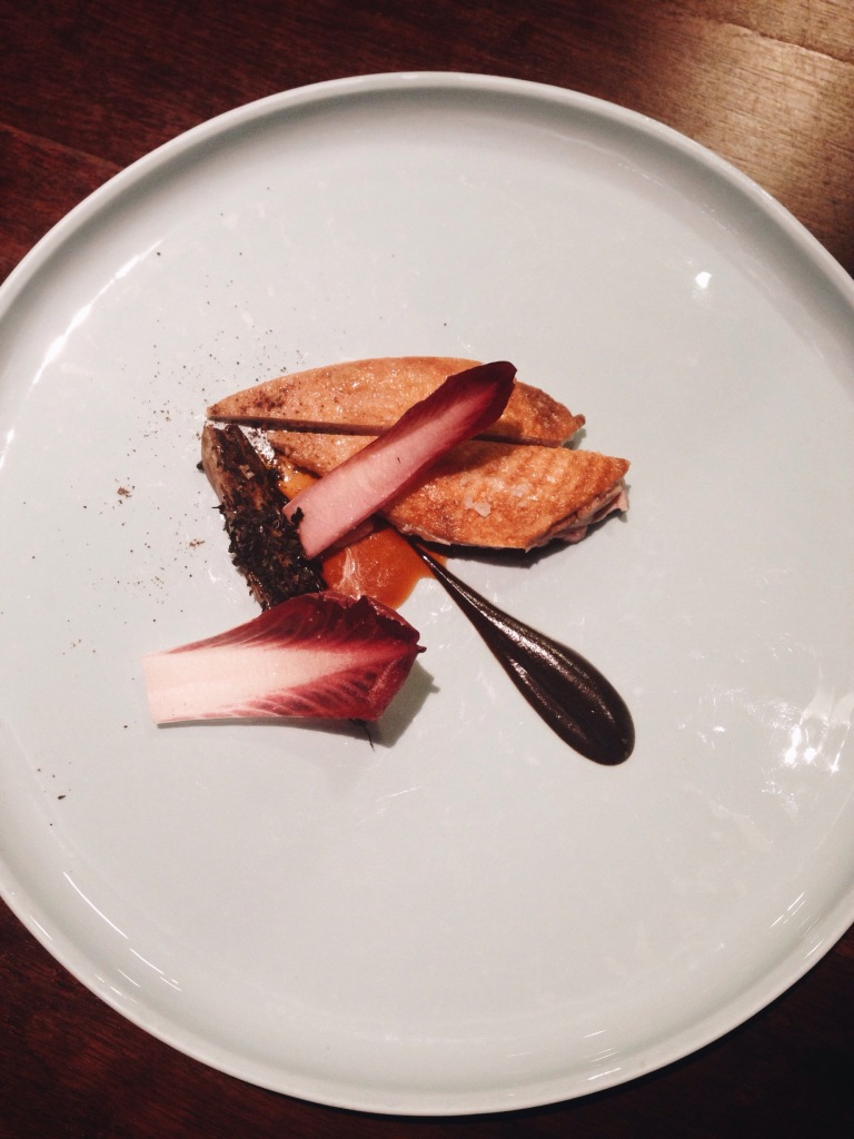 6th course: crazy delicate partridge with truffle and endive is another highlight.