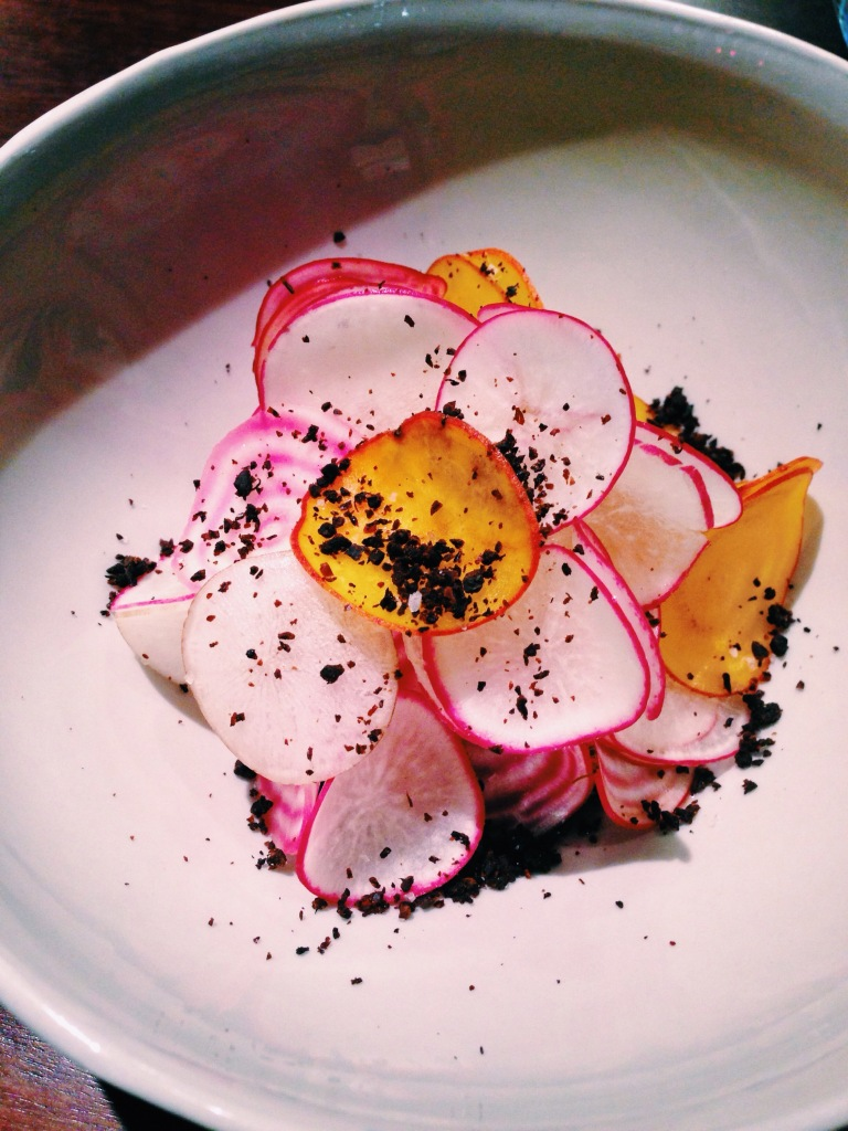 3rd course: Beef, radish, fermented black beans