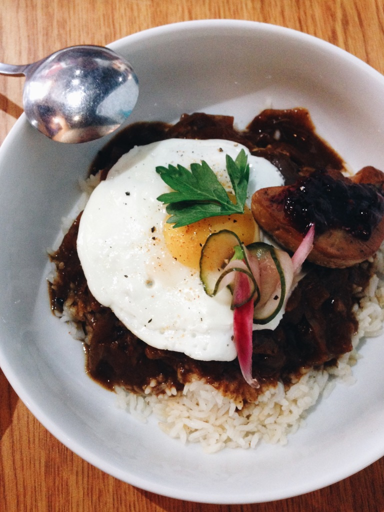 Loco moco royale at Scratch Kitchen & Bake Shop