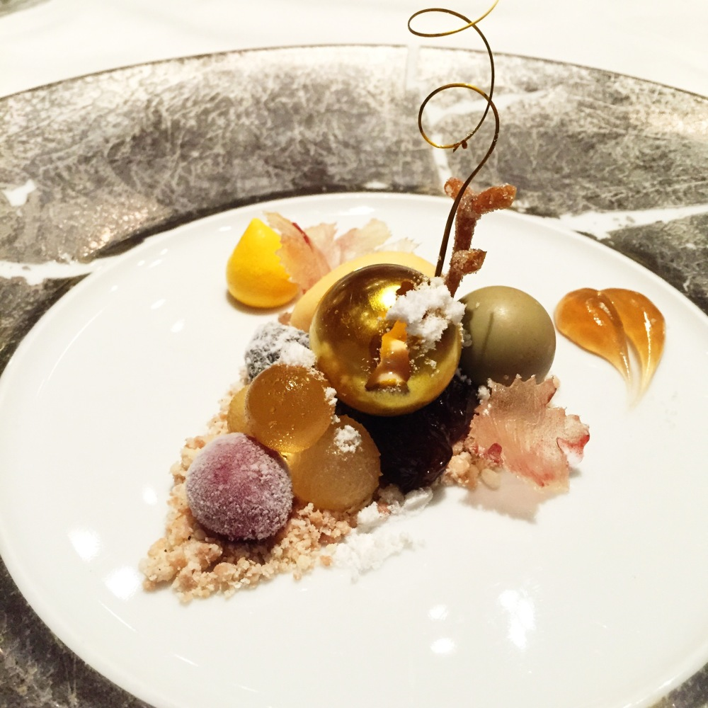 A dessert course part of my $550-meal at The Fat Duck Melbourne