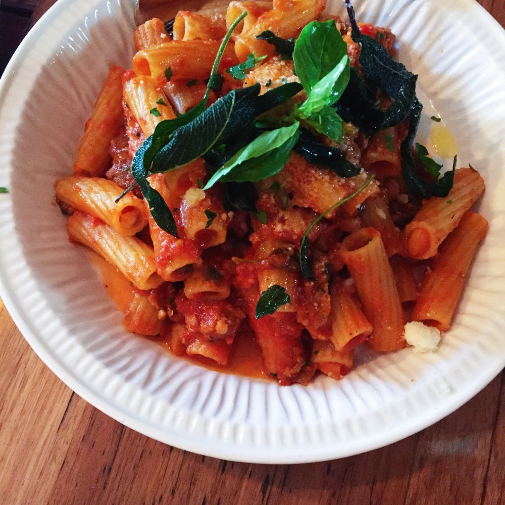 Rigatoni at Buffalo Dining Club