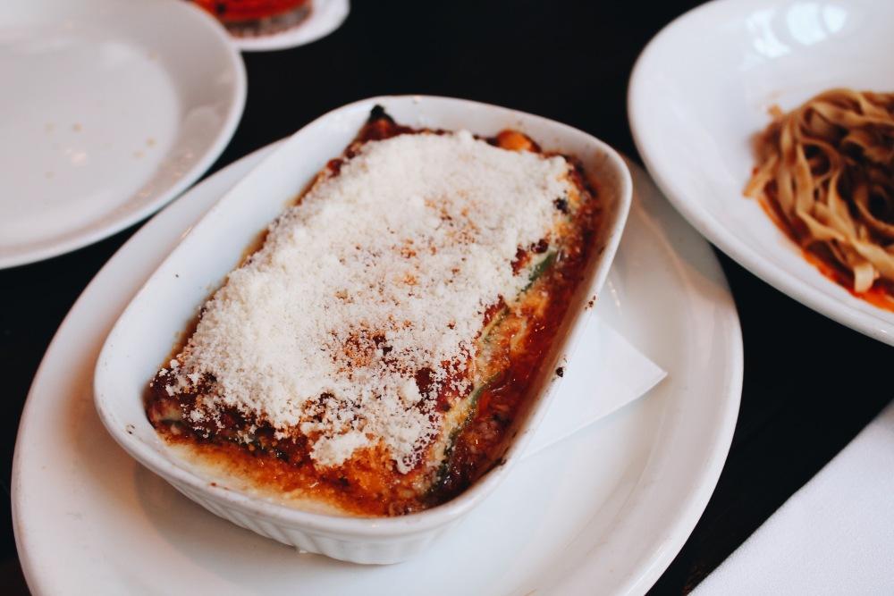 Lasagnetta at Fratelli Paradiso