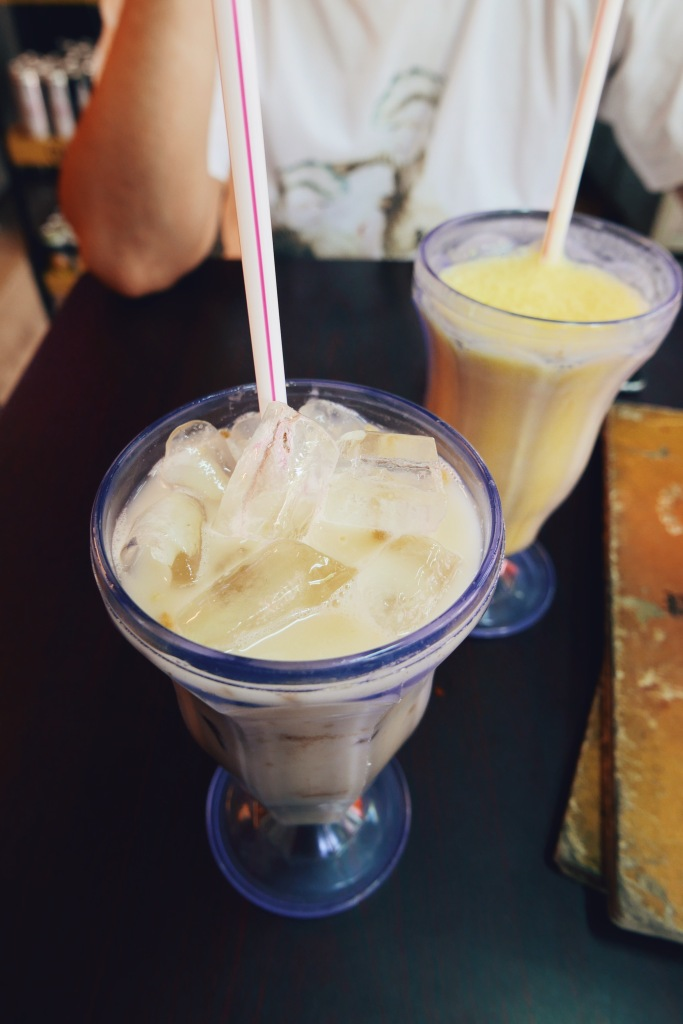 Horlicks and mango lassi
