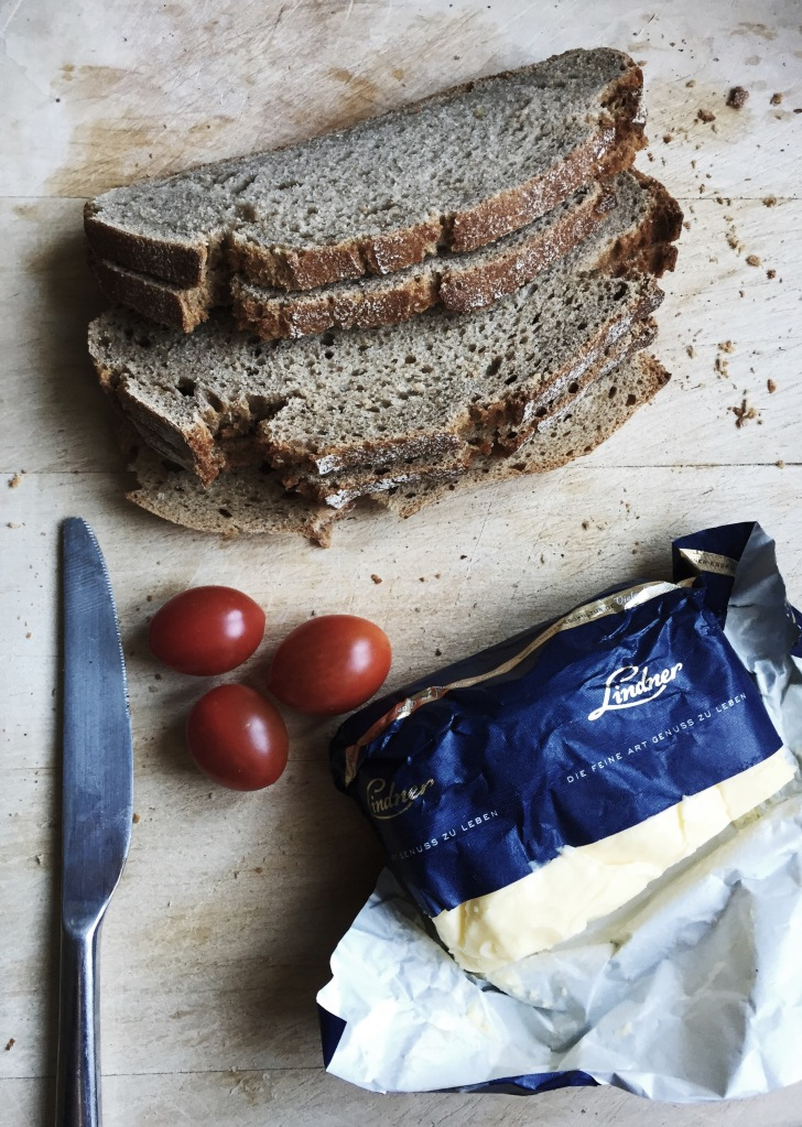 Rye bread and Lindner butter