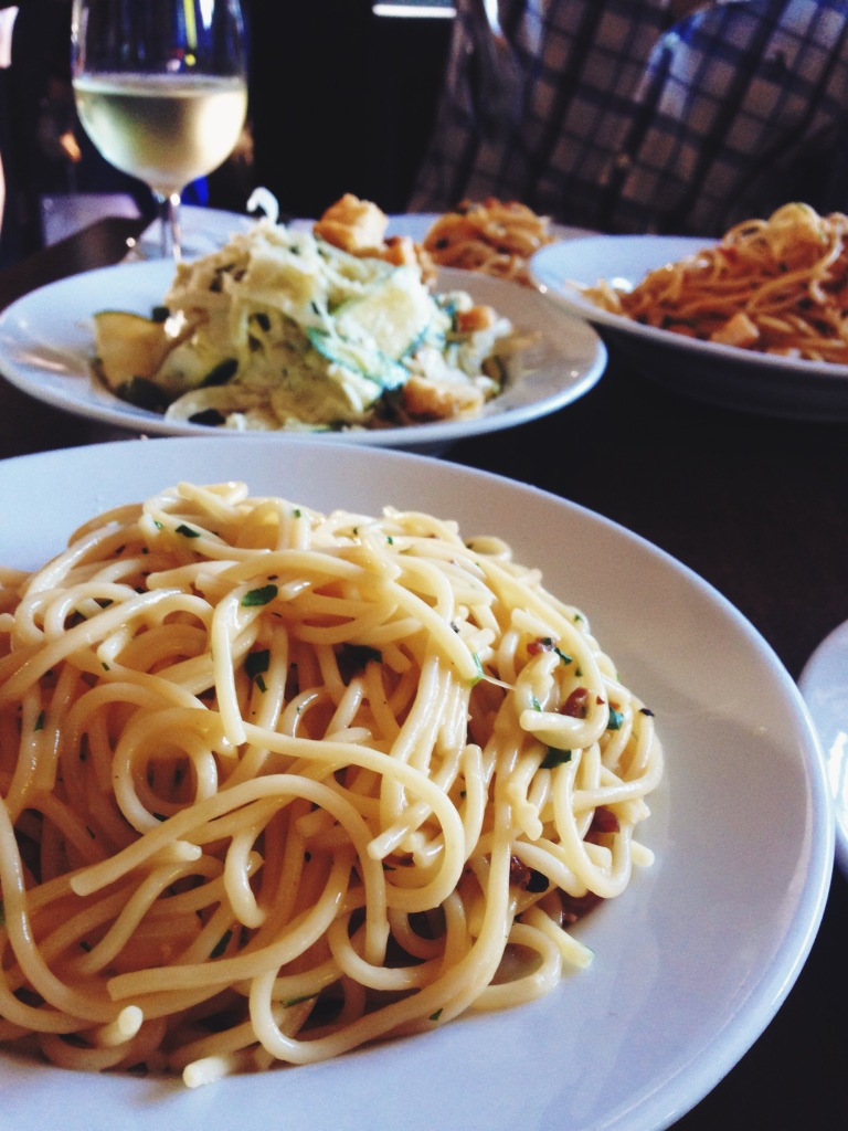 Pasta dishes at Cafe Sopra range from $18 to $26