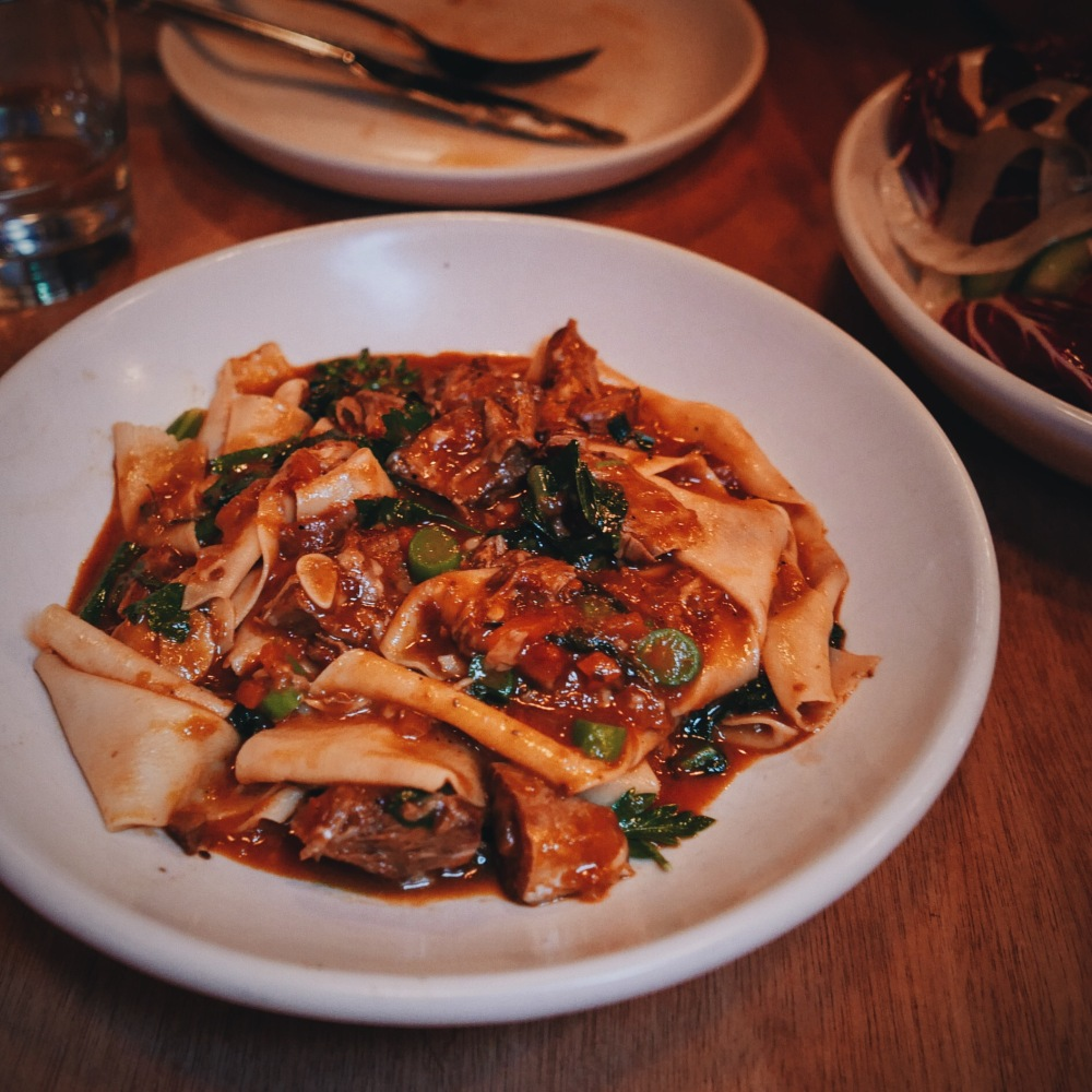 Pappardelle ragu at Kindred