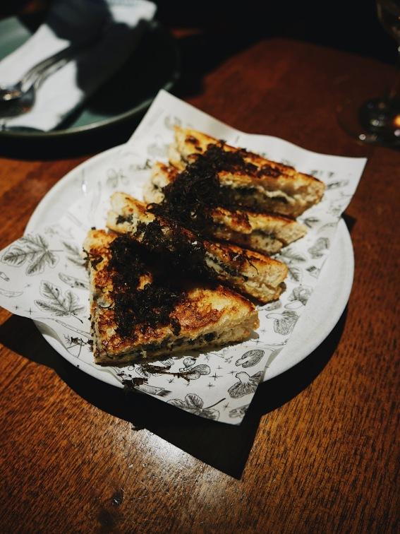 Truffle toastie
